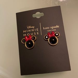 New with Tag Minnie Mouse Kate Spade earring